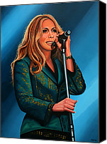 Art Of Soul Singer Canvas Prints - Anouk Canvas Print by Paul Meijering