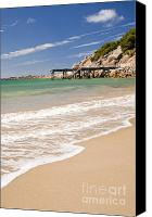 Tim Hester Canvas Prints - Australian Beach Canvas Print by Tim Hester