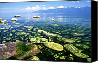 Featured Canvas Prints - Baikal Canvas Print by Anonymous