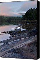 Acadia Canvas Prints - Otter Creek Dawn Reflections Canvas Print by Stephen  Vecchiotti