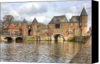Joana Kruse Canvas Prints - Amersfoort Canvas Print by Joana Kruse