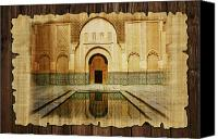 Formerly Canvas Prints - Medina of Marakkesh Canvas Print by Catf