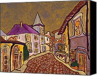 Prague Canvas Prints - Provence Canvas Print by Oscar Penalber