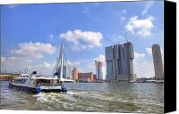 Joana Kruse Canvas Prints - Rotterdam Canvas Print by Joana Kruse