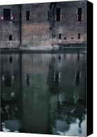 Moat Canvas Prints - Castle Canvas Print by Joana Kruse