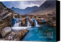 March Canvas Prints - Fairy Pools Canvas Print by Maciej Markiewicz