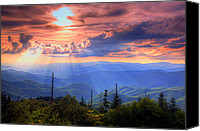 Parkway Canvas Prints - Great Smoky Mountains  Canvas Print by Douglas McPherson