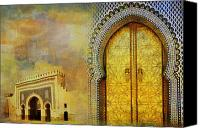Formerly Canvas Prints - Medina of Faz Canvas Print by Catf