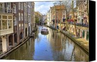 Joana Kruse Canvas Prints - Utrecht Canvas Print by Joana Kruse