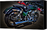 Bars Canvas Prints - A Sweet Ride Canvas Print by David Patterson
