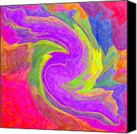 Kenny Canvas Prints - Abstract 44 Canvas Print by Kenny Francis