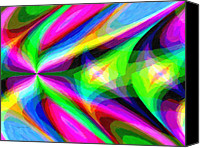 Kenny Canvas Prints - Abstract 45 Canvas Print by Kenny Francis