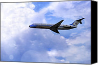 Joe Biden Canvas Prints - Air Force One - McDonnell Douglas - DC-9 Canvas Print by Jason Politte
