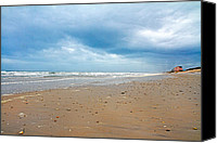 Topsail Island Canvas Prints - All You Need is Right Here Canvas Print by East Coast Barrier Islands Betsy A Cutler