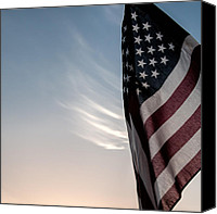 Patriot Photo Canvas Prints - America Canvas Print by Peter Tellone