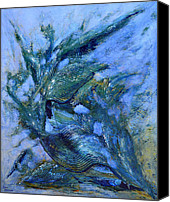 Modern Painting Special Promotions - Aquatic dream Canvas Print by Thierry Vobmann