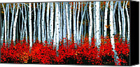 Colorado Mountains Canvas Prints - Aspens Canvas Print by Michael Swanson