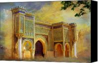 Formerly Canvas Prints - Bab Mansur Canvas Print by Catf