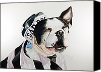Print Special Promotions - Bad Dog Canvas Print by Brigitta Frisch