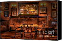 Arnie Goldstein Canvas Prints - Bar Keep Canvas Print by Arnie Goldstein