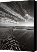 Dave Canvas Prints - Barkby Beach I Canvas Print by David Bowman
