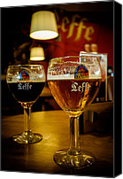 Light Special Promotions - Beer Canvas Print by Sergey Simanovsky