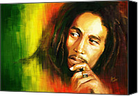 Print Special Promotions - Bob Marley Canvas Print by Cool Canvas