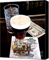 Jerome Stumphauzer Canvas Prints - Buena Vista Irish Coffee Canvas Print by Jerome Stumphauzer