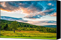 Steve Harrington Canvas Prints - Canaan Valley WV Canvas Print by Steve Harrington