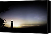 Pacific Northwest Special Promotions - Cape Disappointment Lighthouse Canvas Print by Don Schwartz
