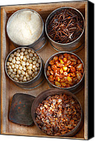 Nuts Canvas Prints - Chef - Food - Health food Canvas Print by Mike Savad