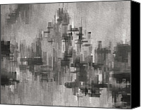 Jack Zulli Canvas Prints - Cityscape 3 Canvas Print by Jack Zulli