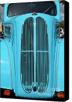 Mary Deal Canvas Prints - Classic Anglia Grille Canvas Print by Mary Deal
