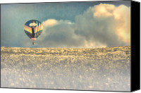 Hot Air Canvas Prints - Clouds Within Clouds Canvas Print by Bob Orsillo