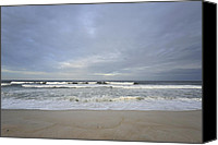 Terry Deluco Canvas Prints - Cloudy Skies Canvas Print by Terry DeLuco