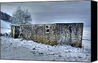 David Birchall Canvas Prints - Cold Comfort  Canvas Print by David Birchall