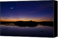 Lifestyle Prints Photo Canvas Prints - Crescent Skies Canvas Print by Mark Andrew Thomas