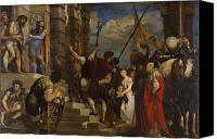 Ecce Canvas Prints - Ecce Homo Canvas Print by Titian