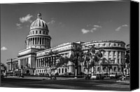 Habana Canvas Prints - El Capitolio Canvas Print by Erik Brede