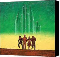 Toto Canvas Prints - Emerald City Canvas Print by Bob and Marie Bretz