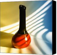 Unique Glass Art Canvas Prints - Empty Vessel 2 Canvas Print by Tom Druin