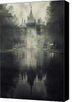Moat Canvas Prints - Enchanted Castle Canvas Print by Joana Kruse