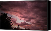 Mick Anderson Canvas Prints - Evening Sky Canvas Print by Mick Anderson
