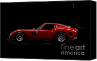 Ferrari Gto Canvas Prints - Ferrari GTO Canvas Print by Declan Leddy