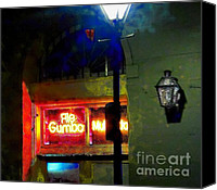 Gumbo Canvas Prints - File Gumbo  Canvas Print by John  Kolenberg