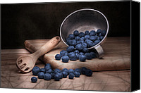 Cutting Canvas Prints - Fruit Cup Still Life Canvas Print by Tom Mc Nemar