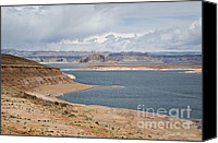 Chromatic Canvas Prints - Glen Canyon Page AZ No. 3 Canvas Print by Dave Gordon