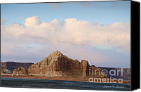 Chromatic Canvas Prints - Glen Canyon Page AZ No. 4 Canvas Print by Dave Gordon