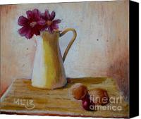Featured Pastels Canvas Prints - Good Morning Canvas Print by Maria  Leah