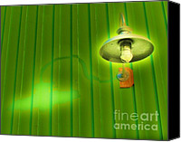 Featured Canvas Prints - Green Light Canvas Print by John King